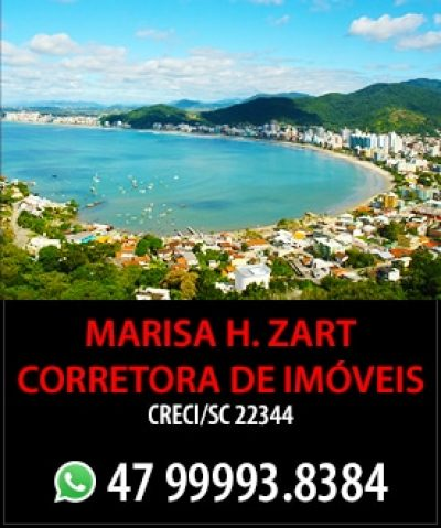 Marisa Helena Zart – Corretora de Imóveis – Creci/SC 22344